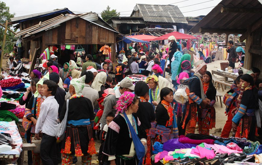 Chợ phiên Dào San - Lai Châu