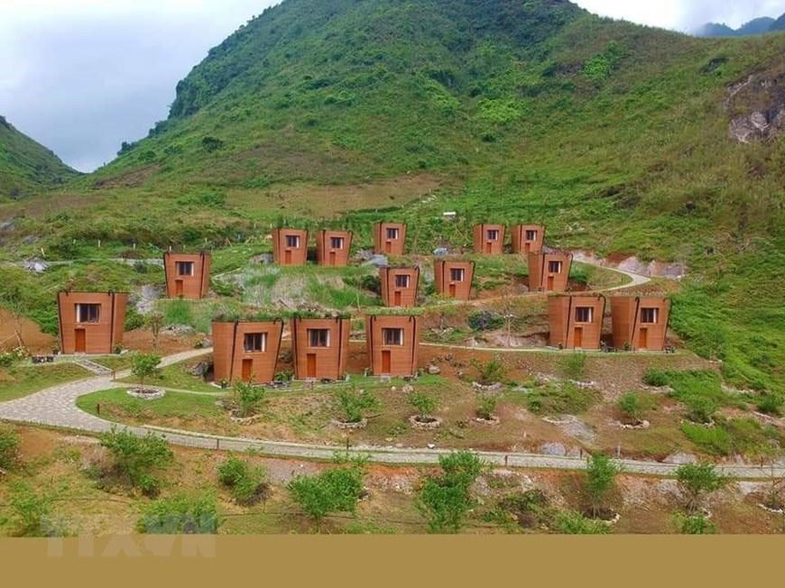 Khu nghỉ dưỡng với các ngôi nhà hình Quẩy Tấu xác lập kỷ lục Việt Nam |  Điểm đến | Vietnam+ (VietnamPlus)