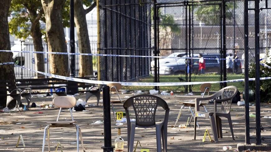 [ẢNH] Mỹ: Xả súng tại sự kiện ngoài trời khiến 12 người thương vong