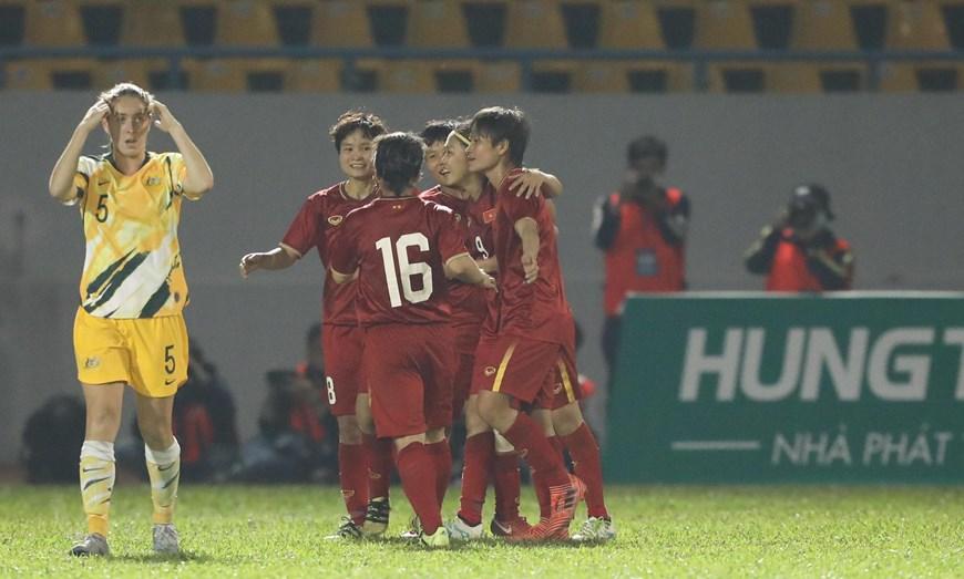 Xem lại bóng đá Nữ Việt Nam vs Nữ Úc, 11/03/2020
