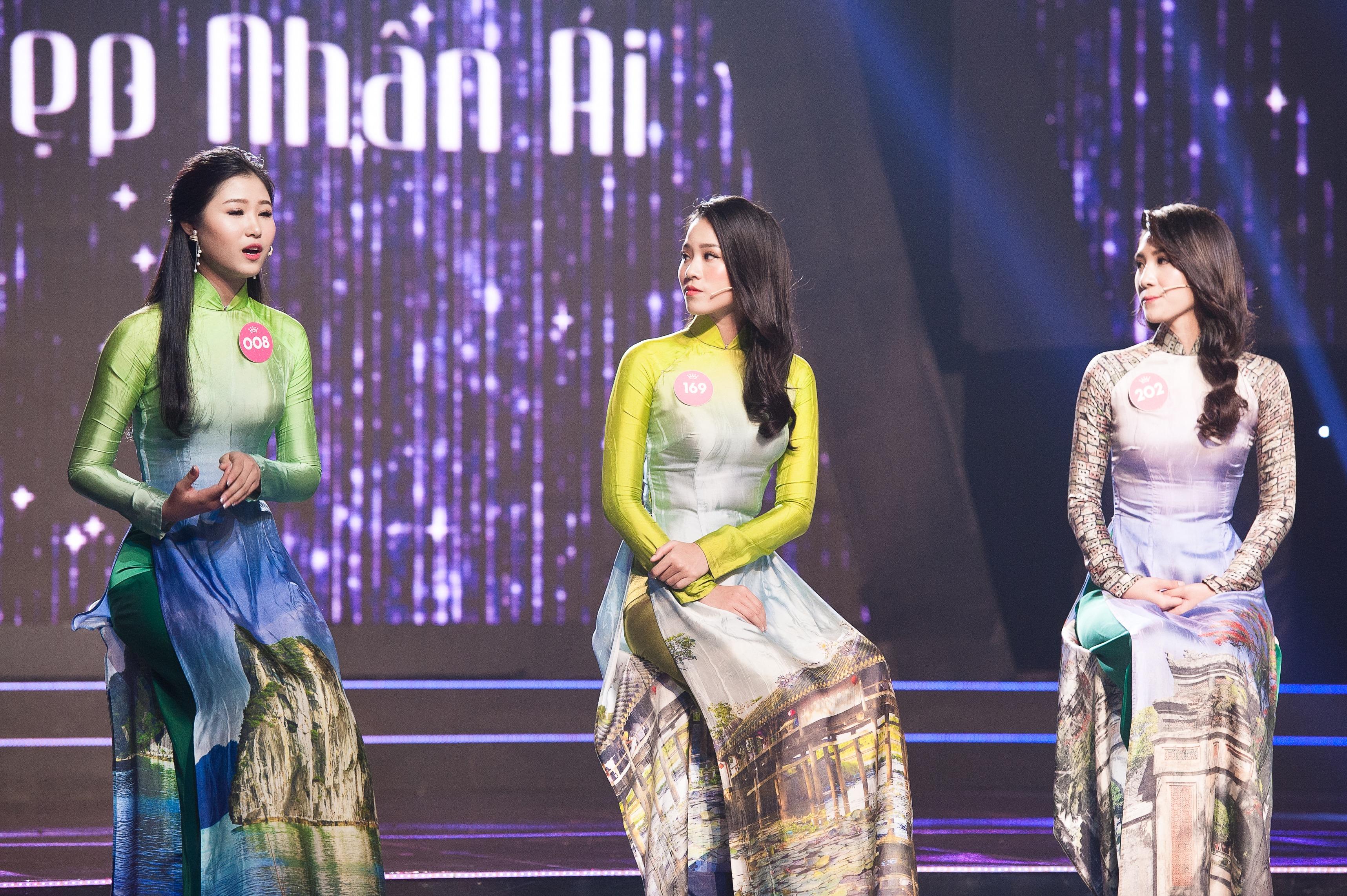 Thi sinh Hoa hau Viet Nam 2018 tung co thoi gian di lam phu ho hinh