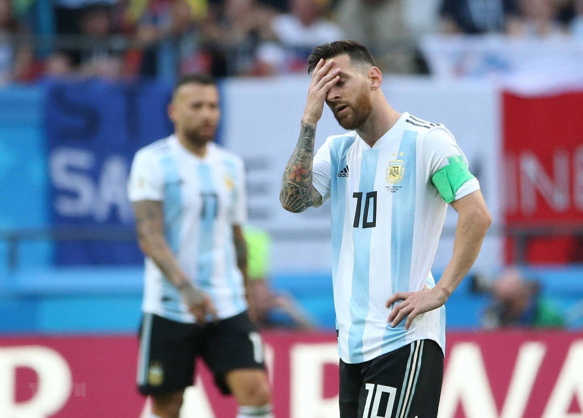 Nhung lan gay that vong cua Lionel Messi trong mau ao Argentina hinh anh 1