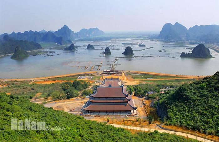 Công bố Quy hoạch tổng thể phát triển khu du lịch Quốc gia Tam Chúc   Điểm  đến   Vietnam+ (VietnamPlus)