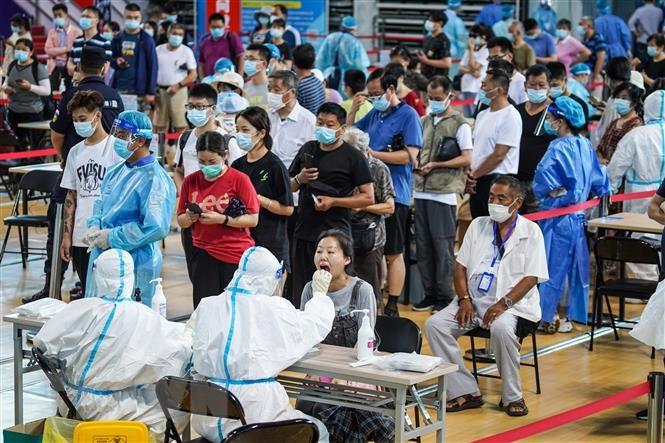 Trung Quốc ghi nhận nhiều ca nhiễm COVID-19 mới do biến thẻ Delta