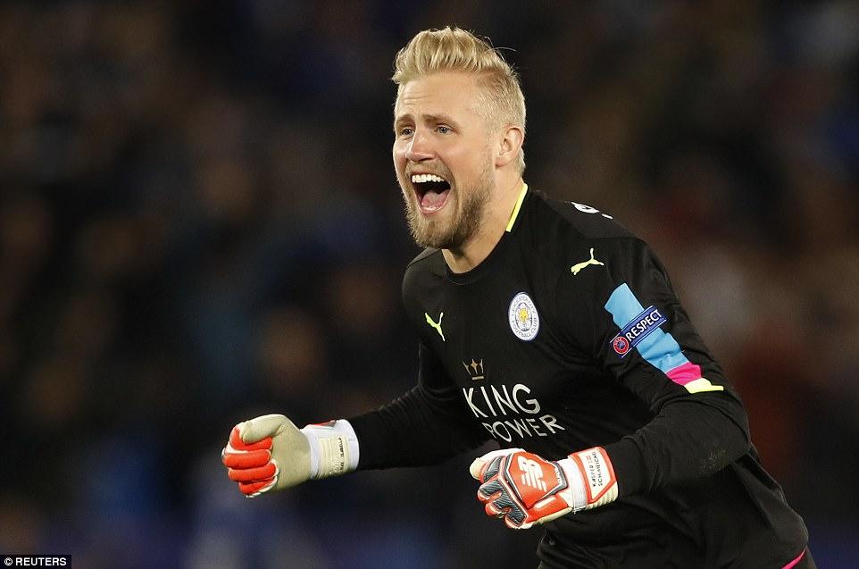 Thủ thành Leicester City lập nên kỷ lục tại Champions League   Bóng đá    Vietnam+ (VietnamPlus)