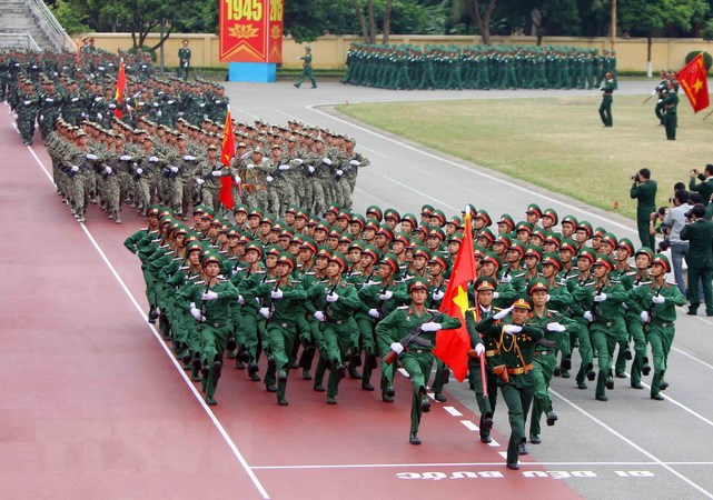 Kỷ Niệm 70 Năm Ngay Truyền Thống Lực Lượng Vũ Trang Quan Khu 4 Chinh Trị Vietnam Vietnamplus