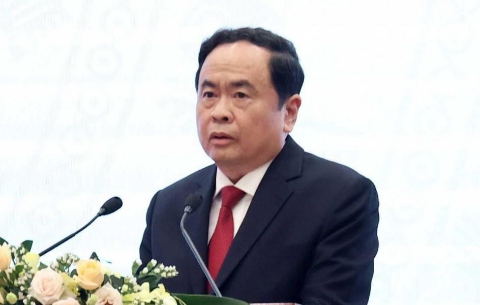 Chủ tịch Ủy ban Trung ương MTTQ thăm hỏi các tỉnh bị thiệt hại do bão | Xã hội | Vietnam+ (VietnamPlus)