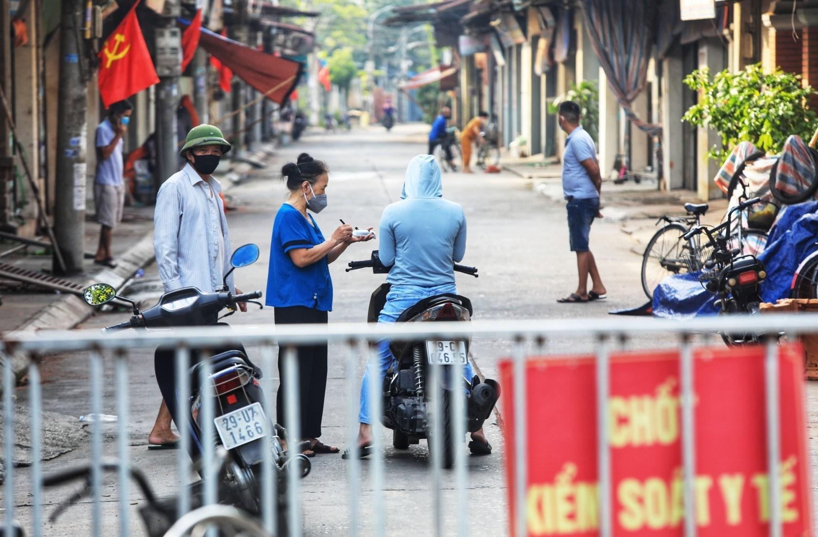Thông tin về địa điểm 11 ca mắc mới COVID-19 ở Hà Nội chiều 30/5   Y tế    Vietnam+ (VietnamPlus)