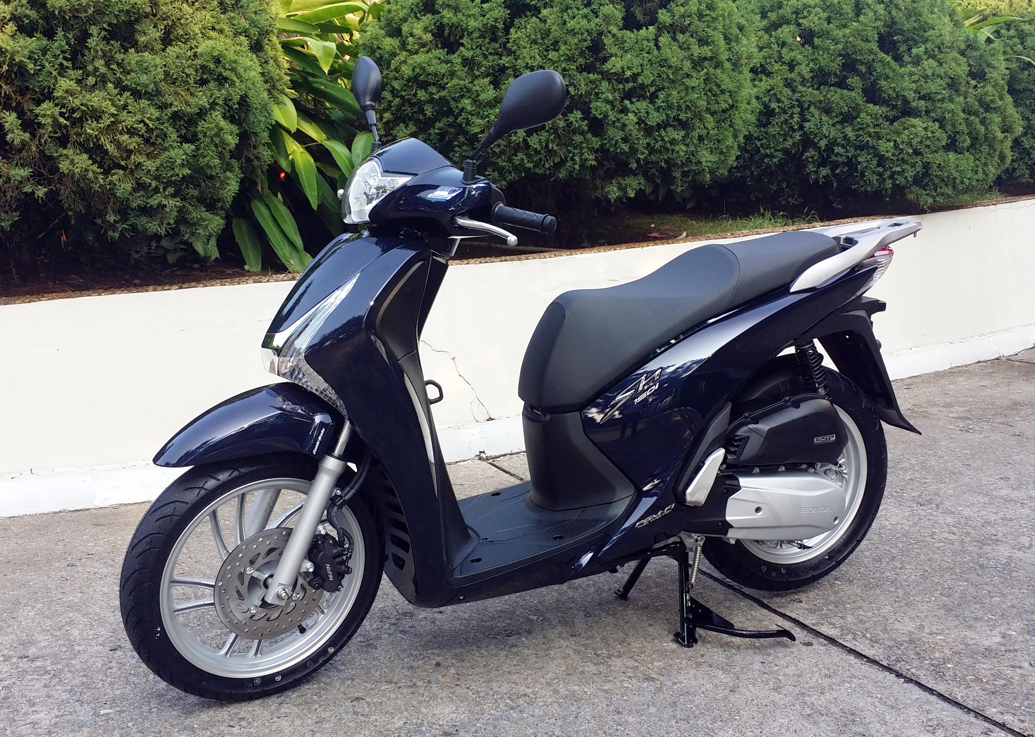 Honda Viet Nam ra mat xe SH tich hop chia khoa thong minh hinh anh 1