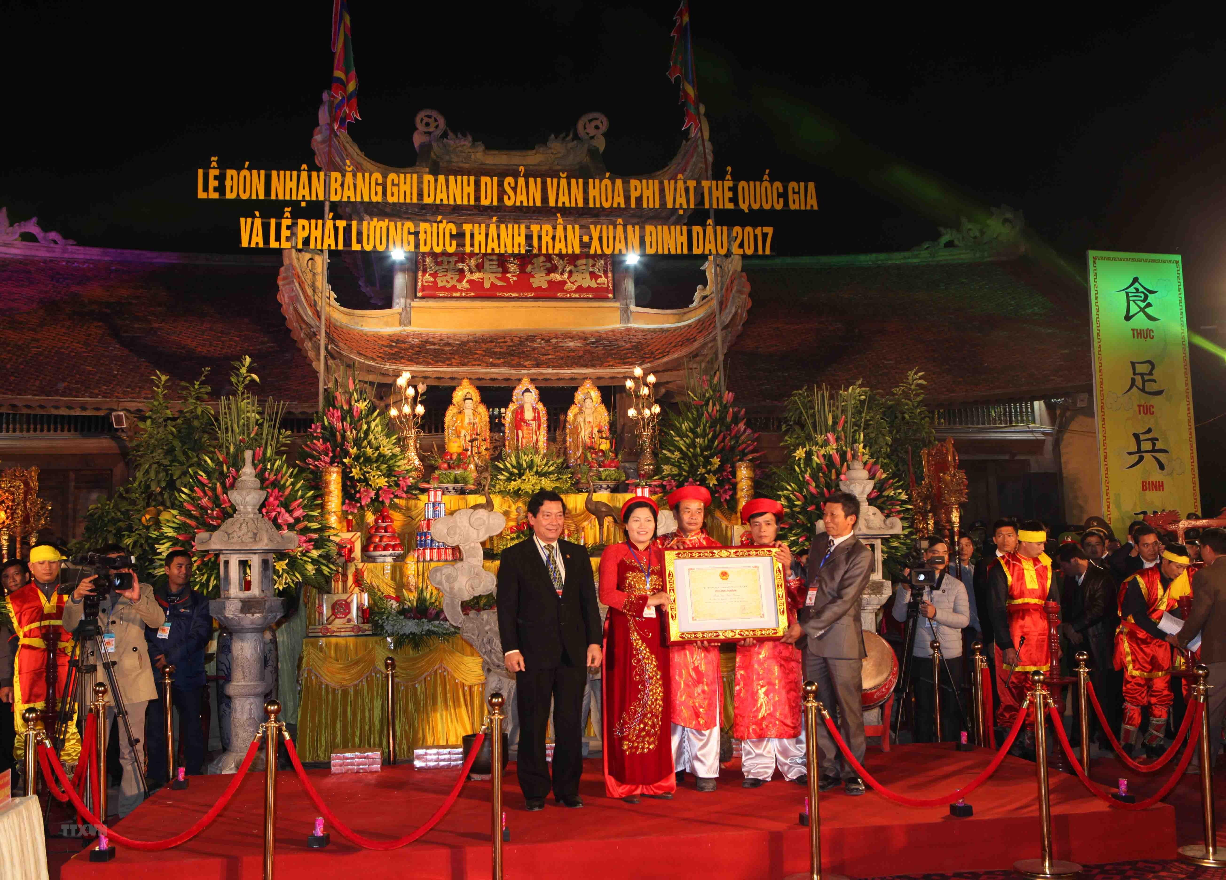 Le hoi den Tran Thuong la Di san van hoa phi vat the quoc gia hinh Lễ ...