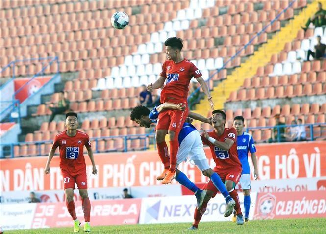 Hấp Dẫn Va Kịch Tinh ở Tốp Cuối Bảng Xếp Hạng V League Bong đa Vietnam Vietnamplus